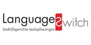 logo klant language switch